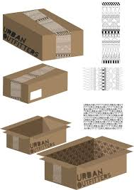Urban Packaging Design Aw Graphics Packaging Design Urban Outfitters