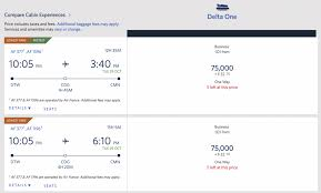 Skymiles Conversion Chart 9 Epic Ways To Use 80 000 Delta Skymiles 2019