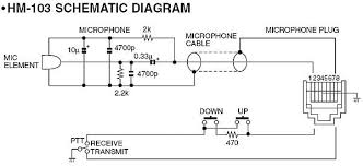 wiring diagram for icom hm 103 microphone schematic wiring diagram for icom hm 103 microphone schematic