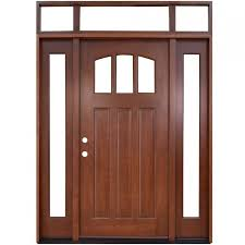 gallery of front door wood glass