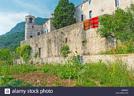 Kitchen Gardens The Kitchen Gardens Of The Podmaine Monastery Located At Its
