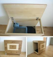 cat litter box diy modern litter box hider diy top entry kitty litter box .  cat .