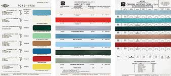 Ford Falcon Colour Chart Fender Custom Colors In The 1960s Vintage Guitar Magazine