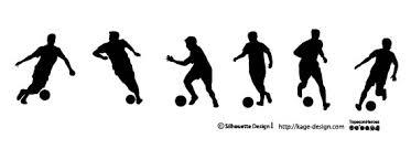 サッカー 検索結果 シルエットデザイン
