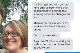 Reasons To Call Out Of Work A Manager Shamed This Mom For Calling Out Of Work Because