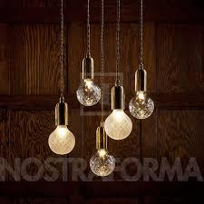 lee broom crystal bulb chandelier 5 piece