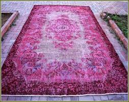 overdyed rugs vintage rugs