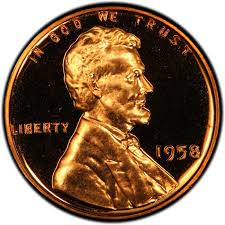 Lincoln Memorial Penny Values Chart 1958 Lincoln Wheat Pennies Values And Prices Past Sales
