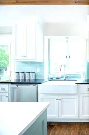 blue glass subway tile blue glass subway tile blue tile kitchen picture blue grey glass subway