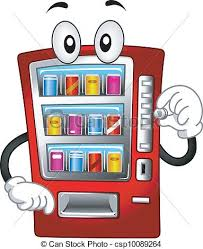 Vending Machine Clipart