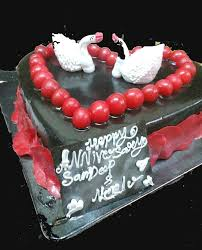 Send Romantic Anniversary Cake To Your Wife Giftzbag