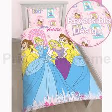 disney princess duvet cover bedding sets single double junior