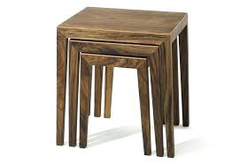 real wood end tables coffee table low solid wood coffee table nest of table by furniture