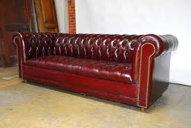classic english leather chesterfield sofa featuring a soft supple shiny leather finished in a