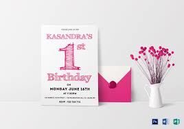 Birthday Invitation Cards Templates 013 Template Ideas Birthday Invitation Card Word Pink