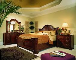 Mansion Bedroom Furniture American Drew Cherry Grove Mansion Bedroom Set In Cherry