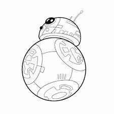 Kleurplaten Star Wars Bb 8 Nvnpr Regarding Star Wars The Force