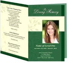 funeral flyer memorial service program template fantastic funeral flyer of unique