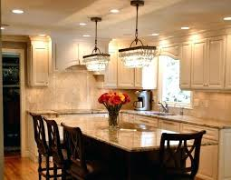 modern kitchen with white cabinet and lighting double crystal chandeliers decor houzz
