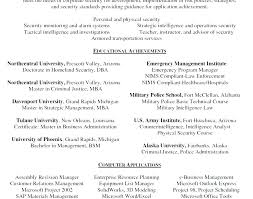 Resume For Security Jobs Security Supervisor Resume Samples Velvet