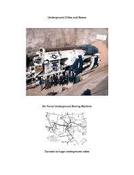 underground tunnels bases