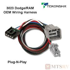 dodge trailer brake controller wiring tekonsha dodge ram prodigy p2 brake controller 2018 2019 car tekonsha 3023 oem wire harness fits