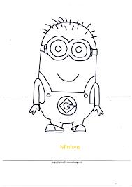 Dessin De Coloriage Les Minions Imprimer Cp15847