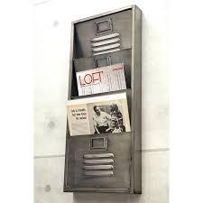 rack wall industrial metal letter racks vintage fashion display storage makeover goods mounted australia