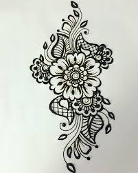 пин от пользователя Raccoon на доске мехенди татуировка цветы