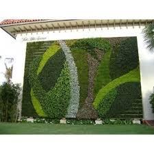 vertical outdoor green wall garden for