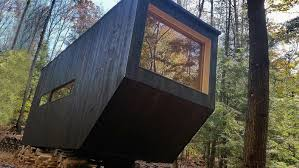 rent tiny house. patrick mulroy, getaway, clara by harvard innovation lab, tiny house, rent house h