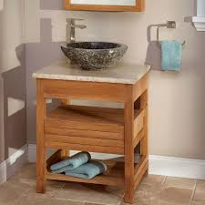 teak bathroom vanities. teak bathroom vanity with stone legs vanities t