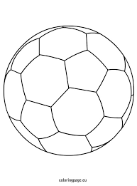 Small Picture soccer ball coloring page szablony Pinterest Soccer ball and