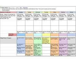 Food Diary Template Google Docs Khu Kiri Templates