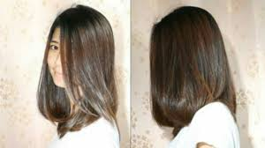 Long Bob Hair Cut Get Volume ตดผมบอบยาวปลายงม 9tubetv