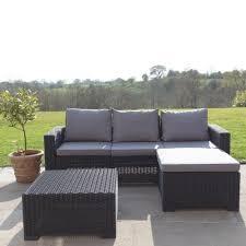 allibert california corner sofa table graphite