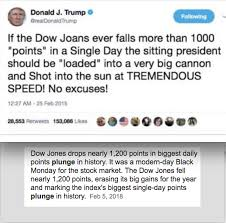 Dow Quote Awesome Trump QuoteJoke Dow JOANS Is NOT The Dow Jones KenBurridge