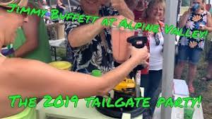 the tailgate party for jimmy buffett at