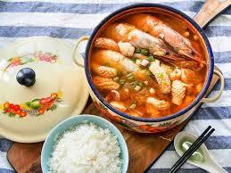 Seafood Kimchi Soup | Food Manna