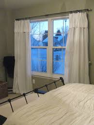 Curtains For Double Windows Curtains For Double Windows Windows Double  Windows Decorating Extraordinary White Bedroom 2448