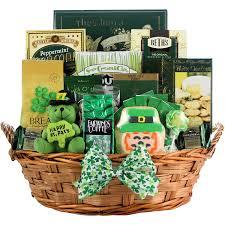 Kitchen Gift Basket Amazoncom Luck O The Irish Large St Patricks Day Gourmet