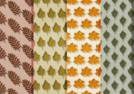Fall Leaf Pattern Amazing Vector Fall Leaves Patterns Download Free Vector Art Stock