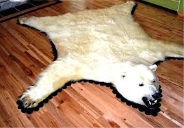 a bear rug faux bear rug stylish white skin with head designs rugs inspiring in bear