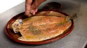 Trucha Arcoiris En Restaurante Doña Paca En Patzcuaro