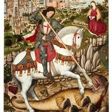 Saint Georges, patron de la Catalogne -