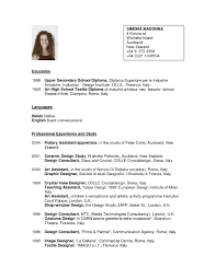 Famous Resume New Zealand Format Pictures Inspiration Example
