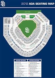 22 Qualified Padres Stadium Seating Map