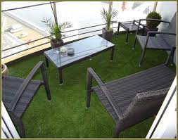 fake grass rug deck