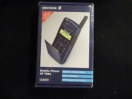 ERICSSON GF 788E MOBILE PHONE BOXED ...