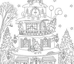 Haunted House Printable Coloring Pages Monster House Coloring Pages